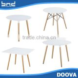 Beech wood legs white coffee tables furniture