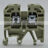 SAK2.5 Screw Din Rail Mount Double Deck Papepp Terminal Connector terminal block connect uk terminal