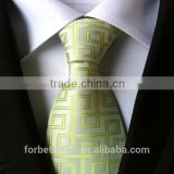 jacquard woven fabric polyester neckties, high quality polyester ties, custom logo polyester ties