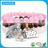 Hot Selling Products Fashion Pink Stone Bracelet