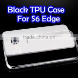 cell phone display case TPU Case for samsung S6 edge s6 edge plus