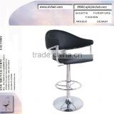 black pu leather chair/ bar chair/ club chairs/ furniture/bar stool