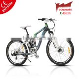 Elektro-Fahrrad E-Bike Pedelec electric bicycle with SR SUNTOUR front fork mountain e bike
