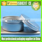 Aluminum Material and Skin Care Cream Use Aluminium jar