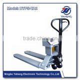Industry hand pallet truck scale HYPS TA Wireless Weighing scale stainless steel pallet scale supermarket Pull truck