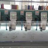 laser cutting computerized embroidery 12 needles 6 head embroidery machine made in China in good quality