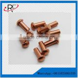 hot sale non-standard brass bolts&screws&fasteners top quality customized made in china