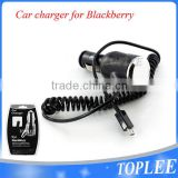 5V 1A micro usb car charger with cable for blackberry for samsung smart phones with cable