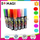 2017 unique liquid markers 15mm tips imported ink car painting liquid chalk markers 8colors Used on all non porous surface