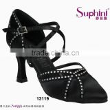 Top Brand Dance Shoes Latin Low Heel Ballroom Dance Shoes