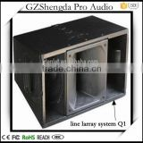 2016 new hot sale high quality line larray system favorable price high sensitivity performance line array cabinet Q1