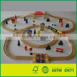 Wooden Train Set 70pcs Toy Train Track