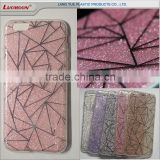 double IMD printing glitter phone case tpu back cover for htc desire 828 10 728 DESIRE I/HTC EYE E9 7295