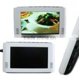 7 INCH PORTABLE TV, WITH USB & CARD READER
