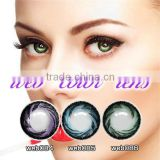Wholesale price korea circle lens halloween beauty soft eyewear colored eye contact lenses
