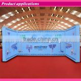 20ft large Aluminum Straight trade show display frame Type photography backdrop pop up display