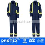 100% cotton flame retardant and anti-static fabric for garments coverall safety clothing