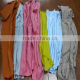 Color mixed cotton wiping rags (New)