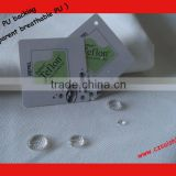 cotton polyester waterproof canvas with Teflon and transparent breathable PU backing ITS test report