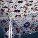 3D Embossed Printed PVC Tablecloth Table Cover