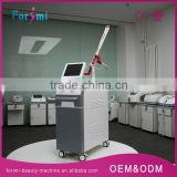 Q-switched 1064 / 532 Nm Auto Switch Metal Handle Q Varicose Veins Treatment Switched Ruby Laser Hair Removal Machine Naevus Of Ota Removal