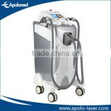 Chinese Apolo Med CE& ISO approved beauty machine double handles e light (ipl &rf) multifunctional machine