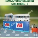 Areca leaf plates making machines/ Automatic & Semi Automatic machines