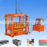 shandong shengya better than small factory concrete block machine for hollow block, solid brick, paver and kerb
