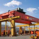 50 ton factory price MG double girder container mobile gantry crane