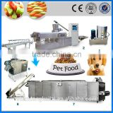 CE ISO fully automatic pet food pellet procduction line dog food machine
