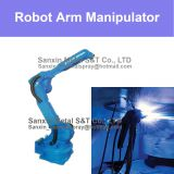 6 Axis Robot Arm Manipulator Thermal Spraying Coating Converter Flue Pipe Surfacing Anit Corrosion Surface Coating Treat