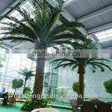 artificial hot selling date big plastic palm tree for decoration