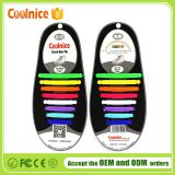 Coolnice easy no tie silicone shoelaces,no tie shoe laces