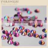 Non hot fix flat back MC crystal rhinestone for fashion decoration