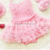 Factory price baby pink lace bikini children's swimwear kids swinwear a little baby swimwear /kids bikini