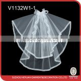 V1132W1-1 Lovely Design Beautiful Bridal Veil for Wedding