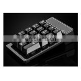 Wireless Numeric Keyboard Bluetooth 3.0 Mini Numeric Keyboard for PC Desktop Laptop Notebook