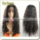 Ample supply and prompt delivery cheap human hair wigs white women