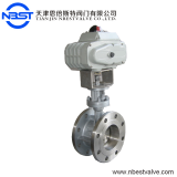 SS304 Butterfly Valve DN200 Electric Actuator Butterfly Valve