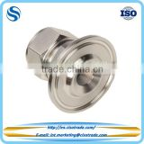 Double ferrule compression fitting, Sanitary pipe fitting for imperail tubes, Sanitary fitting and flange