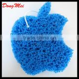 Beautiful fruit shape baby/kids bath sponge,net bath sponge in china factory
