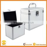 Deluxe Hard Shell Aluminum CD Storage box,aluminum DJ storage flight case,document travel tote carry case