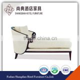 Elegant white wooden chaise lounge JD-GFY-021