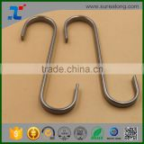 kitchen accessory Metal hook 80mm Stainless Steel S Hooks Kitchen Meat Pan Utensil Clothes Hanger Hanging