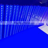 24pcs 3w led wall wash bar RGB 3in1 light 7CH DMX512 / Auto , AC110-240V , power cable dmx cable hand by hand best washer