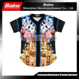 Full dye sublimation baseball jerseys,china baseball jerseys,youth baseball jerseys