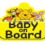 plastic car signs baby on board