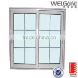 Factory made double glass aluminium sliding window
