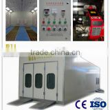 ISO Approved Car Spray Painting and Baking Booth with Diesel Tank                                                                         Quality Choice