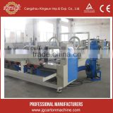 3 ply board automatic folding and gluing machine